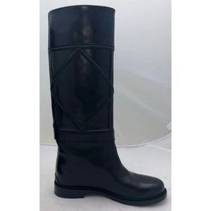 Dior Shoes - New Dior Archi Cannage Boots Black Leather SZ 37.5